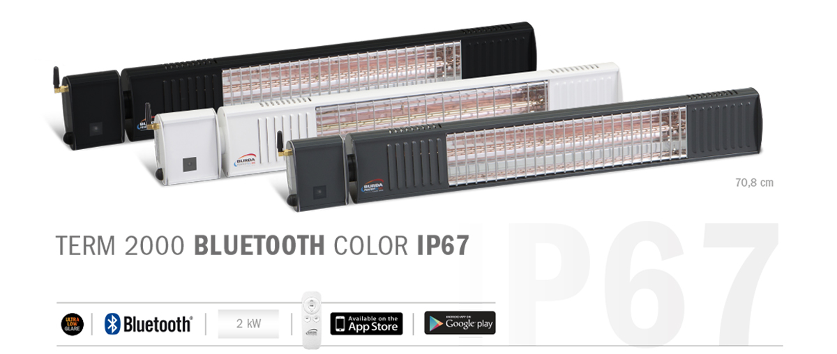 term2000 Bluetooth COLOR IP67 3 couleurs