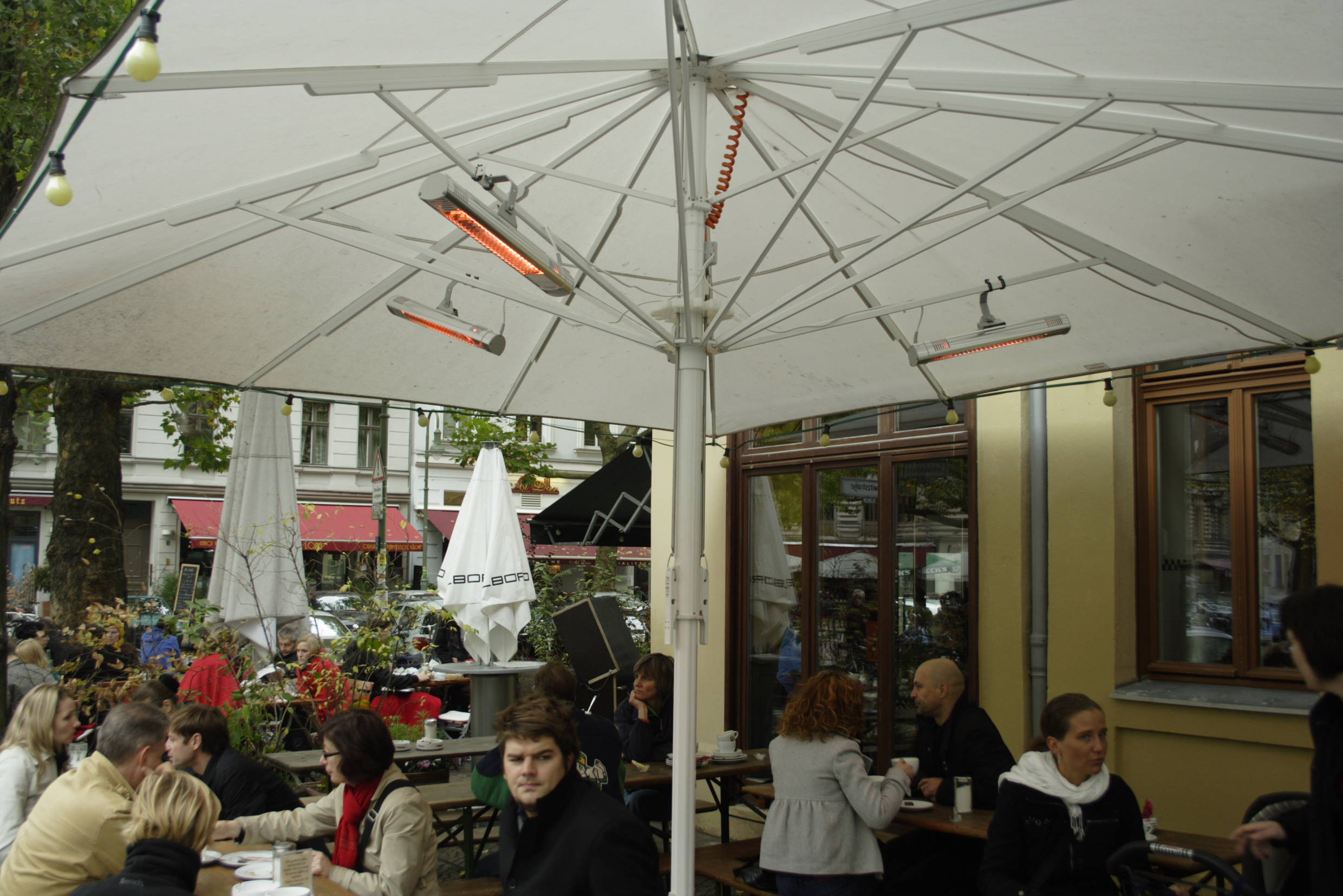 TERM 2000 IP44 sous parasol