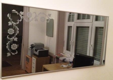 Miroir chauffant infrarouge first heating et infra crystal for Miroir 2m de long