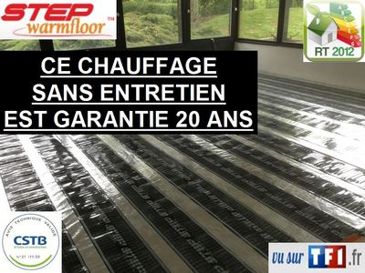 Irl france d couvrez le chauffage infrarouge lointain for Step warm floor